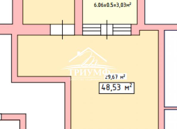 Просторная однокомнатная квартира в отличном новом доме