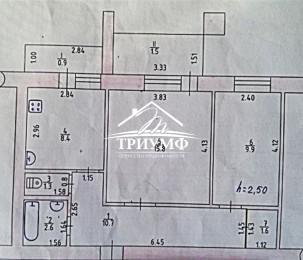 Теплый кирпичный дом 2-х комнатная на ХБК.