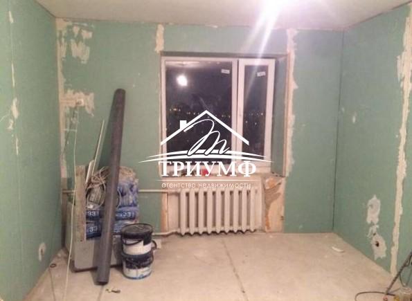 Квартира полностью подготовлена под чистовую отделку
