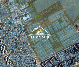 Участок в новом районе Таврического.
