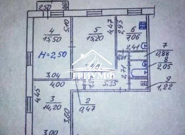 Не дорогая  квартира на среднем этаже по улице Филатова!