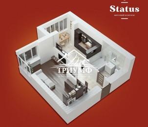 НОВАЯ квартира в НОВОМ доме! Без комиссии!!!