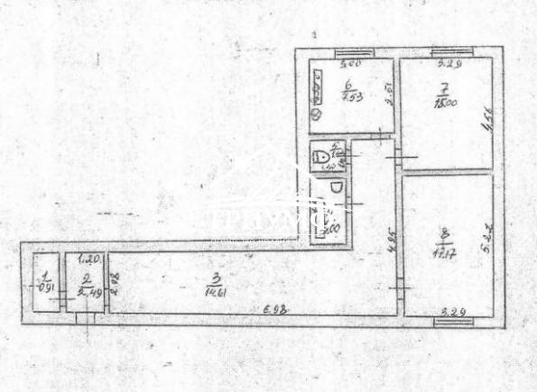 2-комнатная квартира с автономным отоплением по улице Коммунаров!