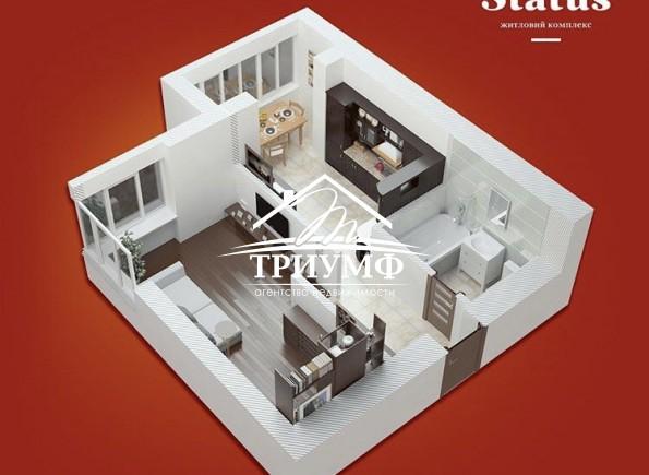 НОВАЯ квартира в НОВОМ доме!