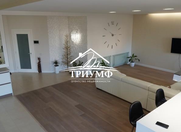 Шикарная квартира, которая легко станет альтернативой частному дому!