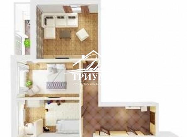 3-комнатная квартира в МЖК!
