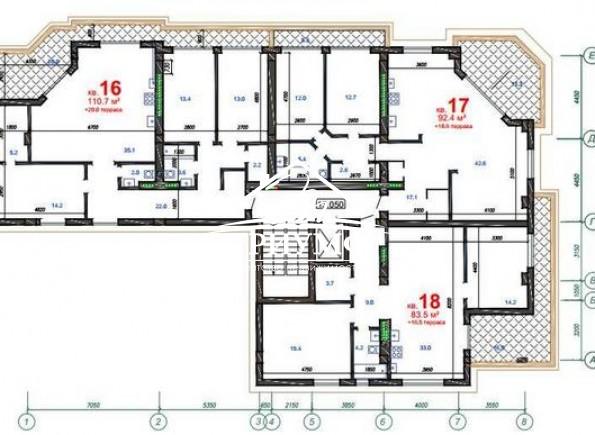 Квартира в центре событий Херсона, новый хороший дом!